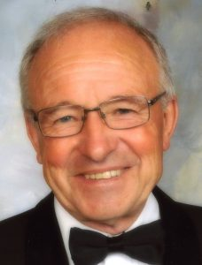 portrait photo of parish clerk colin tearle