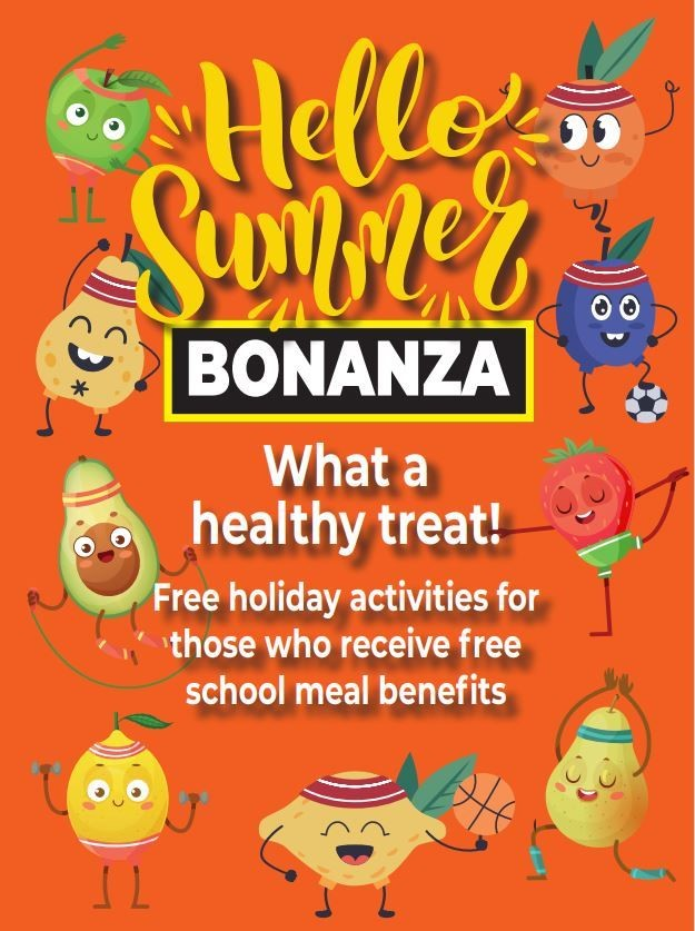 poster advertising healthy activities for kids provided by Kent County Council
